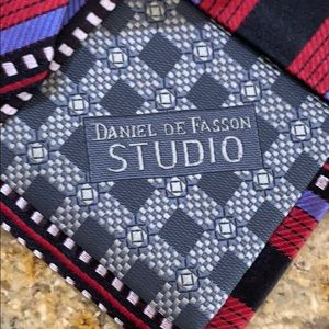 daniel de fasson Accessories - Multicolor Handmade silk neckwear